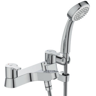 Ideal Standard Calista two taphole deck mounted dual control bath shower mixer