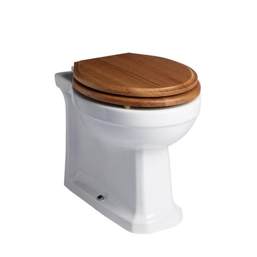 Tavistock Vitoria Back to Wall WC Pan - Unbeatable Bathrooms