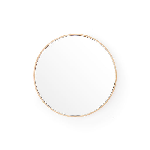 Glance Round Wall Mirror 310 - Natural Oak - Unbeatable Bathrooms