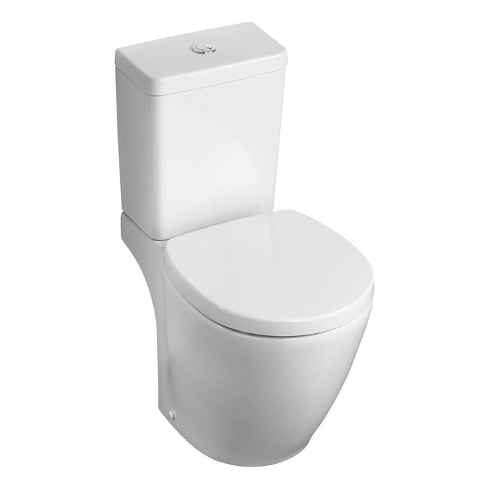 Ideal Standard Concept Space compact close coupled WC pan - Unbeatable Bathrooms