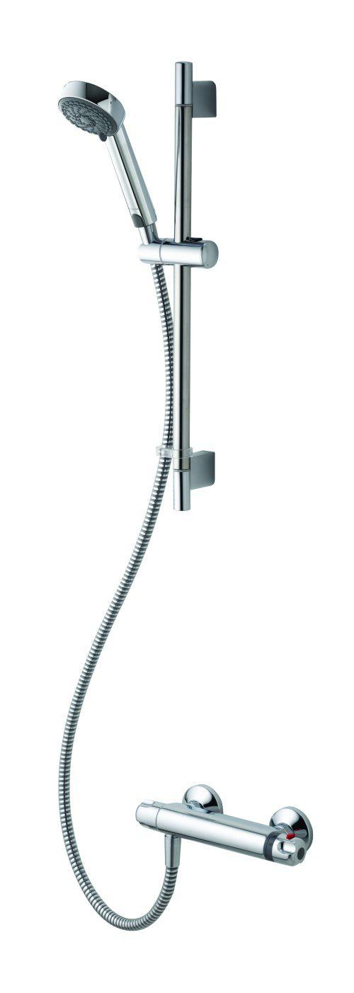 Midas 100 Bar Mixer Shower With Adjustable Head And Easy Fit Bracket - Unbeatable Bathrooms