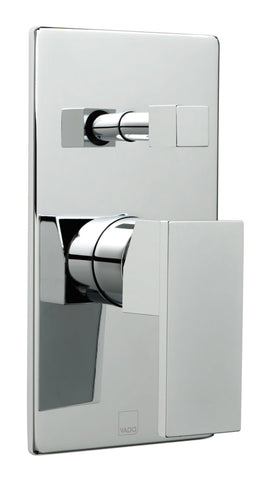 Notion Concealed Single Lever Wall Mounted Manual Shower Valve With Diverter - Unbeatable Bathrooms