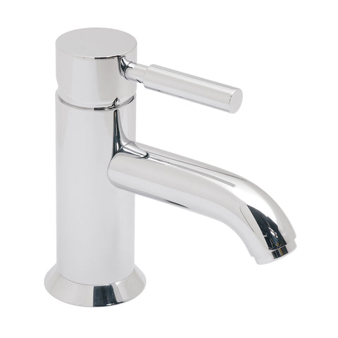 Origins Mono Basin Mixer Smooth Bodied Single Lever Deck Mounted Without Clic-clac Waste - Unbeatable Bathrooms