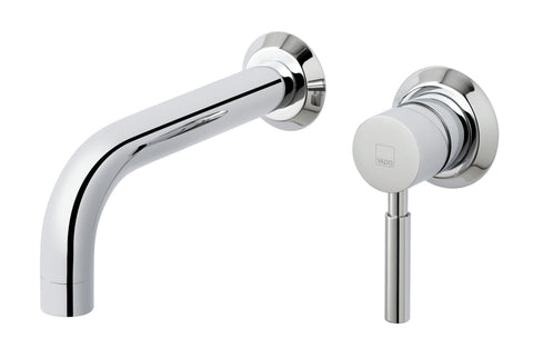 Origins 2 Hole Basin Mixer Single Lever Wall Mounted - Unbeatable Bathrooms