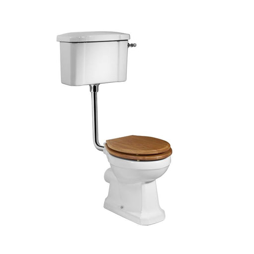 Tavistock Vitoria Low Level WC Pan - Unbeatable Bathrooms