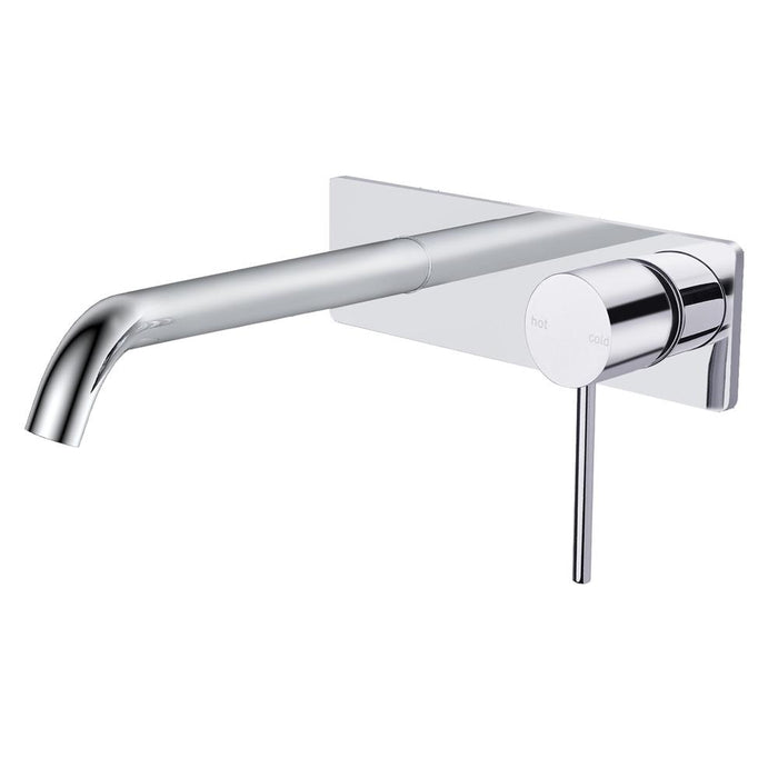 Rak Prima Tech Wall Mounted Basin Mixer with Back Plate - Unbeatable Bathrooms