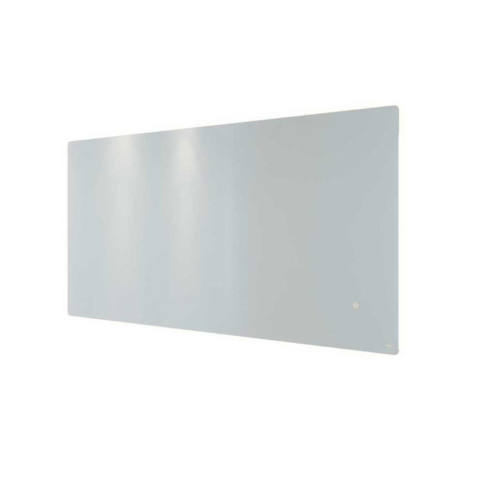 Rak Amethyst LED Illuminated Landscape Mirror with Demister, Shavers Socket and Touch Sensor Switch - Unbeatable Bathrooms