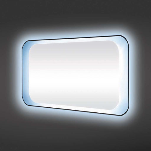 Rak Harmony Led Mirror with Switch and Demister Pad - Unbeatable Bathrooms