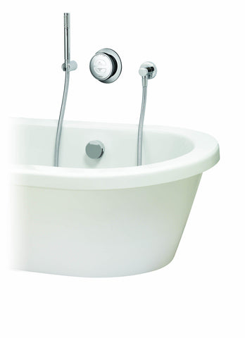 Rise Smart Bath with Diverter and Handshower - Unbeatable Bathrooms