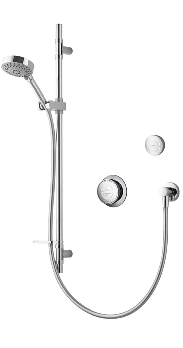 Rise Smart Concealed Shower with Slide Rail Kit & Diverter - Unbeatable Bathrooms