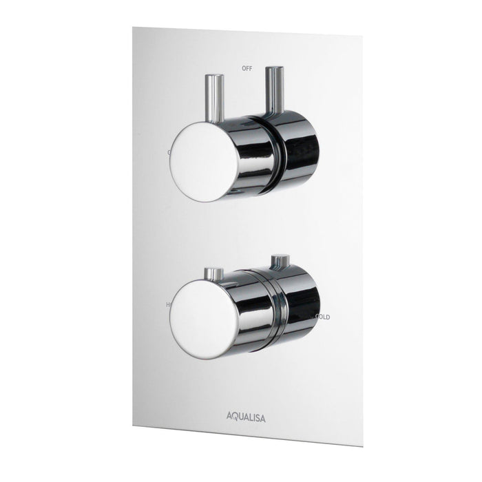 Rise Thermostatic Concealed Shower Valve - Unbeatable Bathrooms