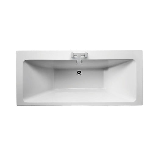Sottini Lato Idealform Plus+ Double Ended Rectangular Bath, No Tapholes - Unbeatable Bathrooms