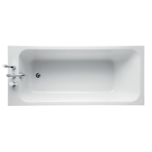 Sottini Cosia Idealform Rectangular Bath, No Tapholes - Unbeatable Bathrooms