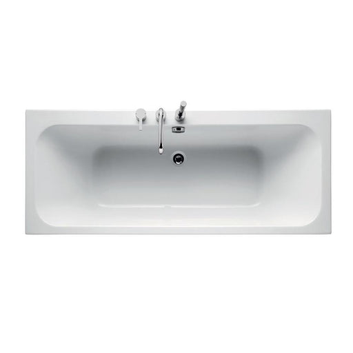 Sottini Cosia Idealform Double Ended Rectangular Bath, No Tapholes - Unbeatable Bathrooms