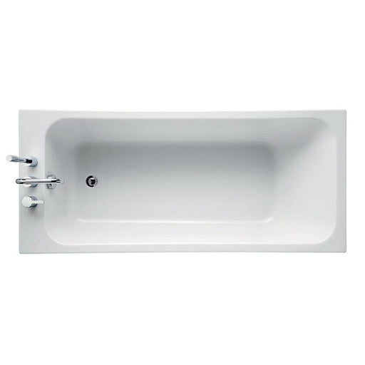 Sottini Cosia Idealform Plus+ Rectangular Bath, No Tapholes - Unbeatable Bathrooms