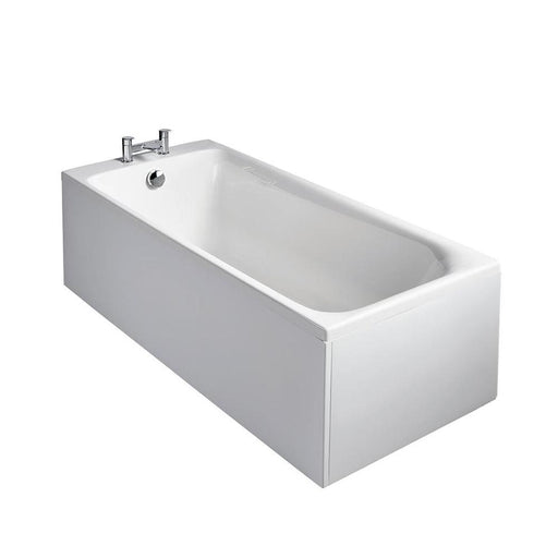Sottini Turano Rectangular Single Ended Bath, Nth Normal Waste - Unbeatable Bathrooms