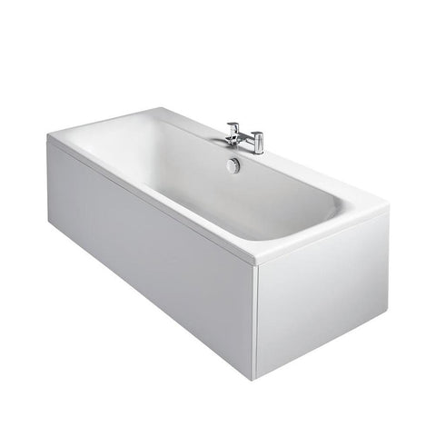 Sottini Turano Rectangular Double Ended Idealform Plus+ Bath, Nth Normal Waste - Unbeatable Bathrooms