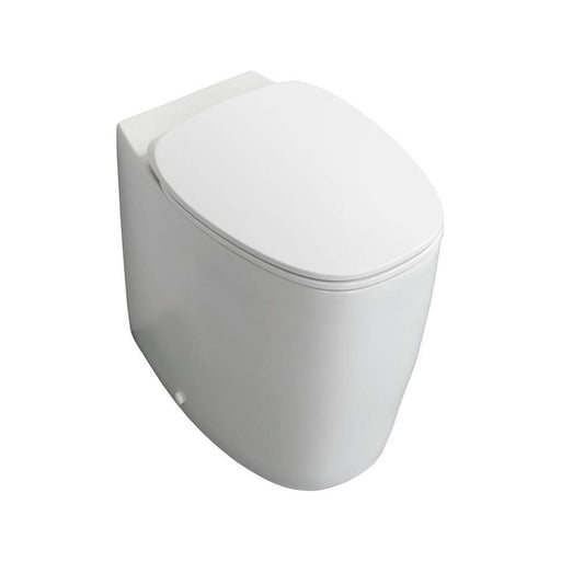 Sottini Vara Back-To Wall WC Unit with Aquablade Technology White - Unbeatable Bathrooms