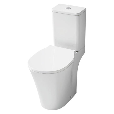 Sottini Isarca Close Coupled WC Unit with Aquablade Technology - Horizontal Outlet - Unbeatable Bathrooms