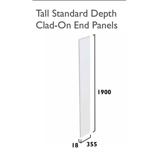 Tavistock Legacy Standard Depth Tall End Panel - Unbeatable Bathrooms