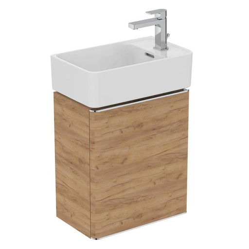 Sottini Fusaro 45cm Guest Washbasin Unit with 1 Door - Unbeatable Bathrooms