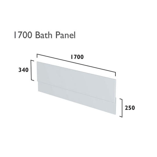 Tavistock Fitted Bath Front Panel - Unbeatable Bathrooms
