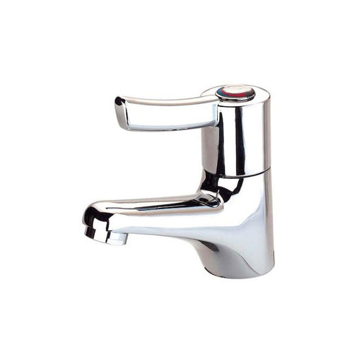 Roca Access Laura Basin Mixer with 1/2inch Flexible Tails - Unbeatable Bathrooms