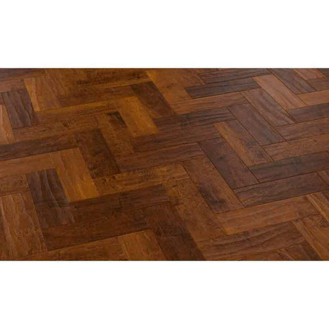 Karndean Art Select Wood Shade Parquet Spanish Cherry Tile - Unbeatable Bathrooms