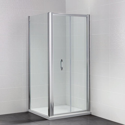 April Identiti Shower Enclosure with Bifold Door - Unbeatable Bathrooms