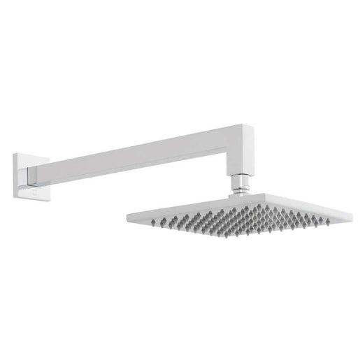 Vado Atmosphere Air-Injected 200mm Square Easy Clean Slimline Shower Head with Shower Arm - Unbeatable Bathrooms