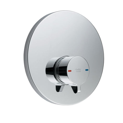 Armitage Shanks Avon 21 Self Closing Push Button Shower with Concealing Plate, Variable Temperature Control - Unbeatable Bathrooms