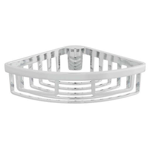 Vado Wall Mounted Removable Corner Basket - Unbeatable Bathrooms