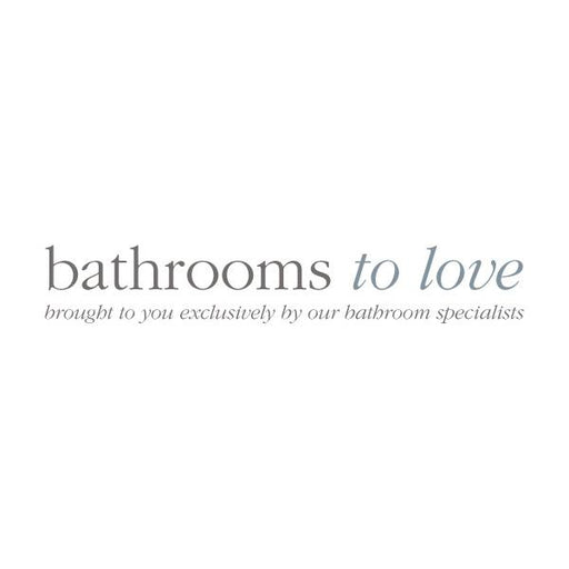 Bathrooms To Love Volta 750mm End Panel - White Gloss - Unbeatable Bathrooms
