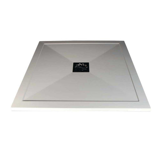 Bathrooms To Love Reflexion 25mm Ultra-Slim Square Tray & Waste - Unbeatable Bathrooms