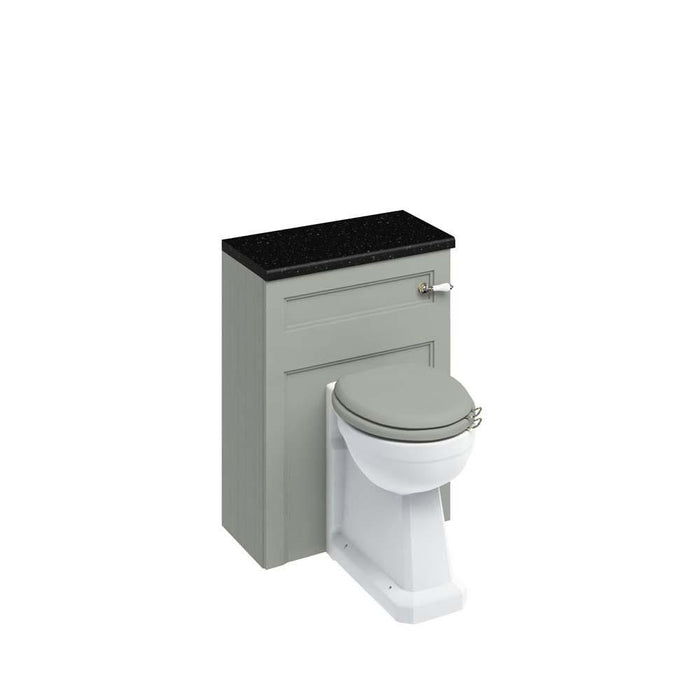Burlington 60cm Back To Wall WC Unit and Regal Back To Wall Pan, Including The Cistern Tank - Unbeatable Bathrooms
