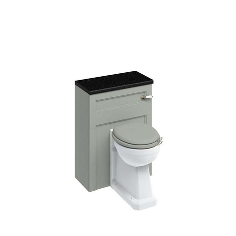 Burlington 60cm Back To Wall WC Unit and Regal Back To Wall Pan, Including The Cistern Tank-W60O+P15