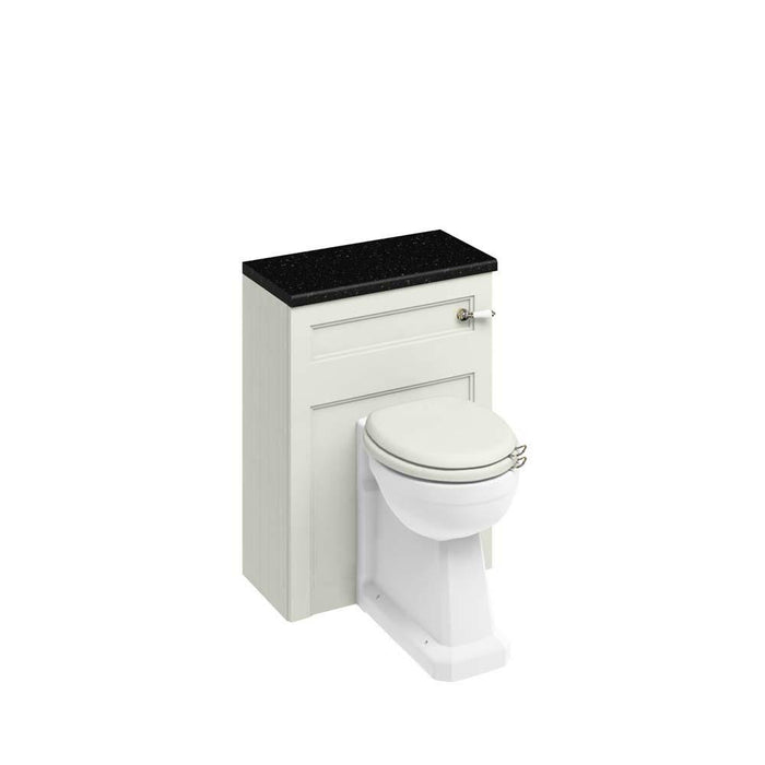 Burlington 60cm Back To Wall WC Unit and Regal Back To Wall Pan, Including The Cistern Tank-W60S+P15