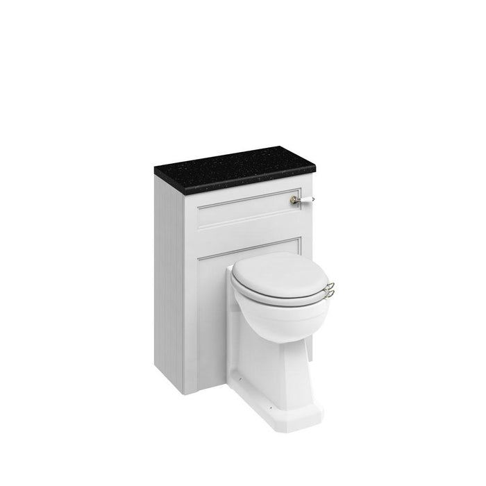 Burlington 60cm Back To Wall WC Unit and Regal Back To Wall Pan, Including The Cistern Tank-W60W+P15