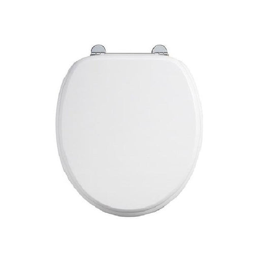 Burlington Carbamide White Toilet Seat - Unbeatable Bathrooms