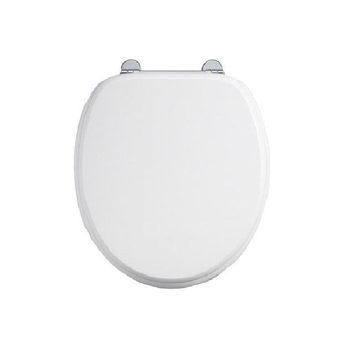 Burlington Carbamide White Toilet Seat - S18