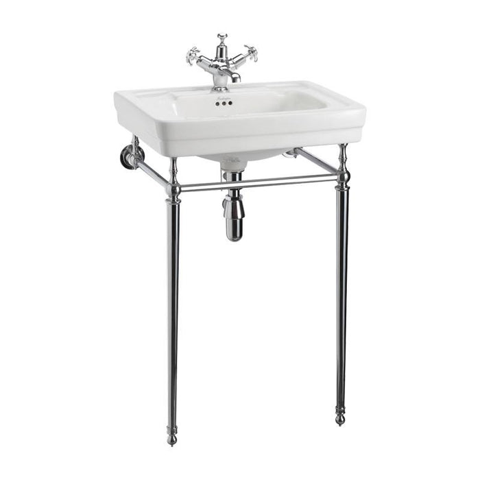 Burlington Contemporary Basin with Basin Stand - T22A CHR