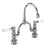 Burlington Kensington Regent 2 Tap Hole Arch Mixer with Curved Spout, 230mm Centres - Unbeatable Bathrooms