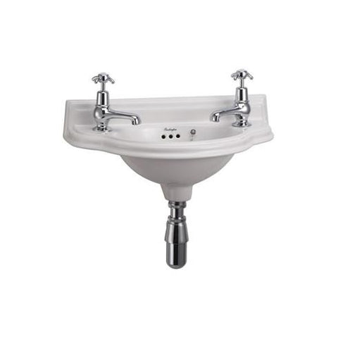 Burlington Small 50.5Cm Curved Front Cloakroom Basin - P13
