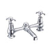 Burlington Traditional 2 Tap Hole Bridge Basin Mixer - Unbeatable Bathrooms