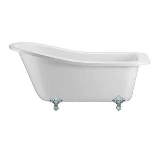 Burlington Traditional Buckingham Slipper Bath Tub - Unbeatable Bathrooms