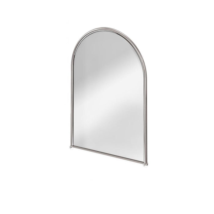 Burlington Traditional Chrome Plated Arched Mirror - Unbeatable Bathrooms