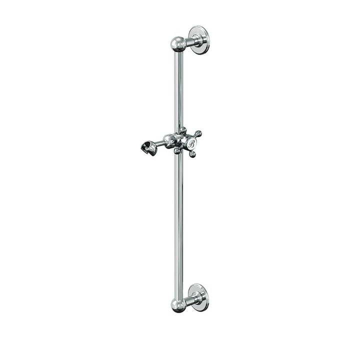 Burlington Traditional Chrome Plated Slide Rail - Unbeatable Bathrooms