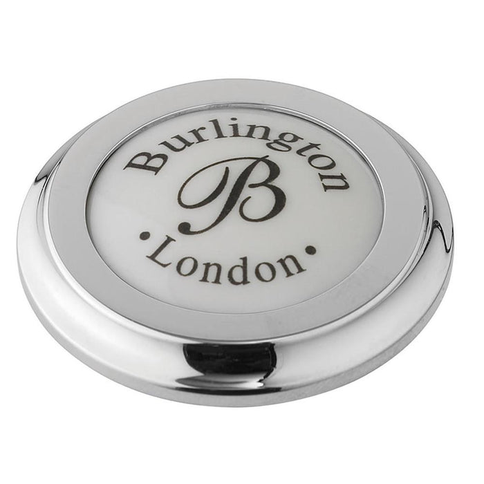 Burlington Traditional Chrome Plated Tap Hole Stopper - Unbeatable Bathrooms