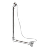 Burlington Traditional Exposed Bath Overflow Plug & Chain - W4