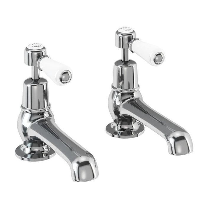 Burlington Traditional Kensington Chrome Plated 5 Basin Tap - Unbeatable Bathrooms